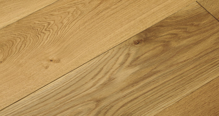 Barn Natural Oak Brushed & Oiled Engineered Wood Flooring - Descriptive 2