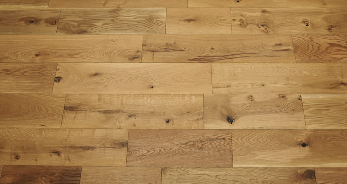Barn Natural Oak Brushed & Oiled Engineered Wood Flooring - Descriptive 3