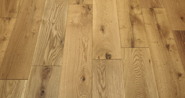 Barn Natural Oak Brushed & Oiled Engineered Wood Flooring - Descriptive 5