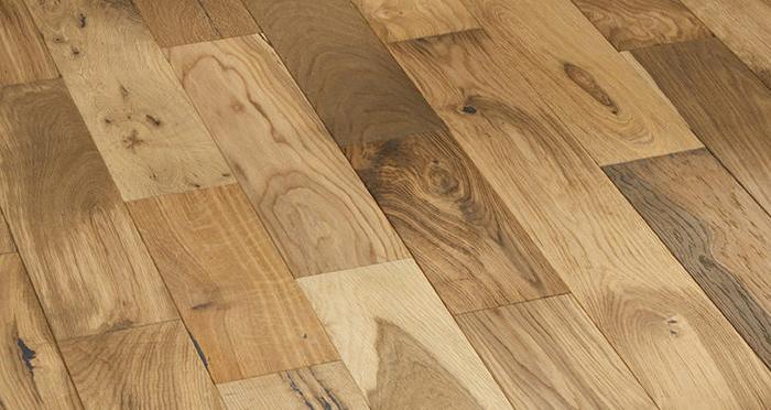 Studio Blonde Oak Brushed & Oiled Engineered Wood Flooring - Descriptive 6