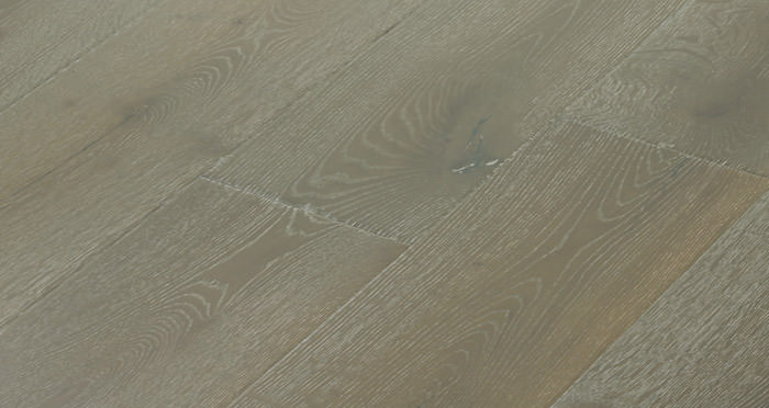 Calvados Grey Oak Brushed & Oiled Engineered Wood Flooring - Descriptive 3