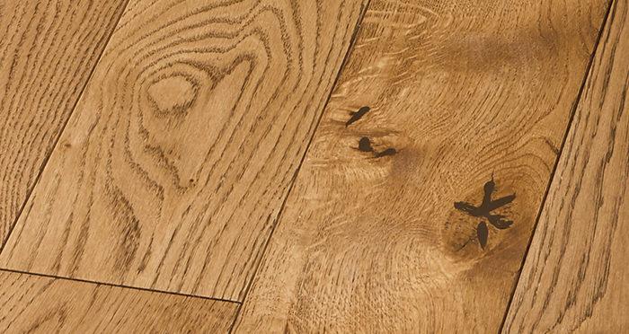 Deluxe Georgian Oak Solid Wood Flooring - Descriptive 2