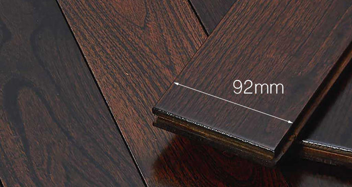 Imperial Teak Lacquered Solid Wood Flooring - Descriptive 3