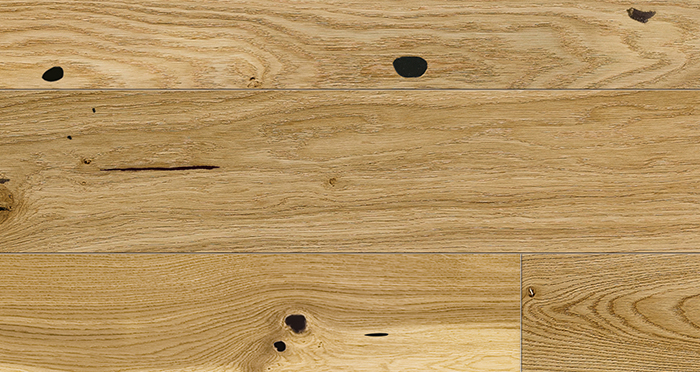 Trade Select 14mm x 180mm Natural Lacquered Engineered Wood Flooring - Descriptive 3