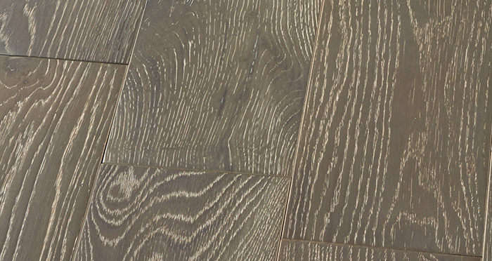 Manhattan Urban Grey Oak Brushed & Lacquered Engineered Wood Flooring - Descriptive 5