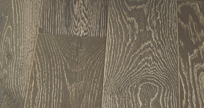 Manhattan Urban Grey Oak Brushed & Lacquered Engineered Wood Flooring - Descriptive 6