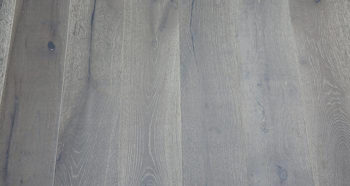Pewter Oak Brushed & Lacquered Engineered Wood Flooring - Descriptive 3