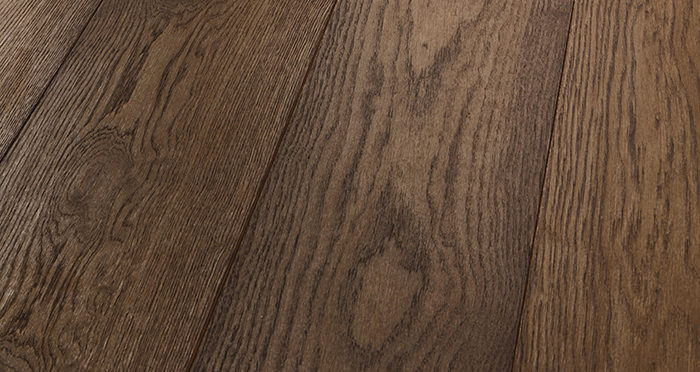 Prestige Chocolate Oak Solid Wood Flooring - Descriptive 1