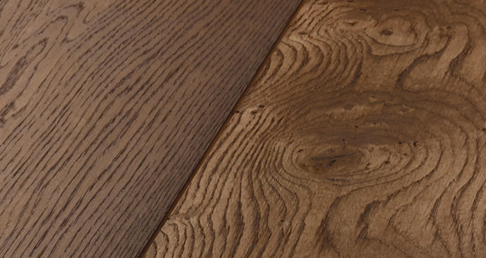 Prestige Chocolate Oak Solid Wood Flooring - Descriptive 2