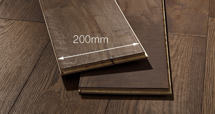 Prestige Chocolate Oak Solid Wood Flooring - Descriptive 3