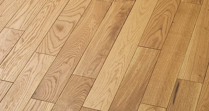 Smoked Oak 90mm Oiled Solid Wood Flooring - Descriptive 2