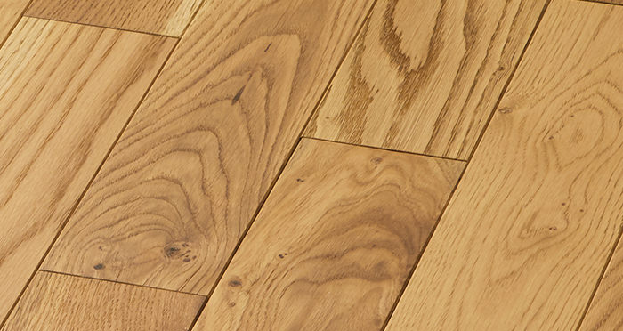 Smoked Oak 90mm Oiled Solid Wood Flooring - Descriptive 3