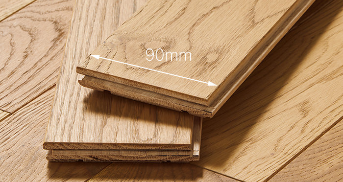 Smoked Oak 90mm Oiled Solid Wood Flooring - Descriptive 4