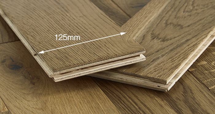 Penthouse Golden Smoked Oak Brushed & Lacquered Engineered Wood Flooring - Descriptive 4