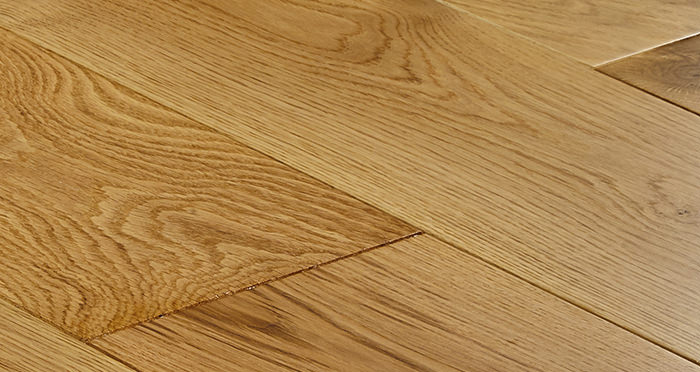 Farmhouse Natural Oak Lacquered Engineered Wood Flooring - Descriptive 4