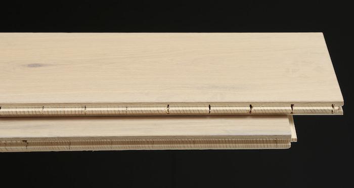 Prestige Herringbone Frosted Oak Oiled Engineered Wood Flooring - Descriptive 1
