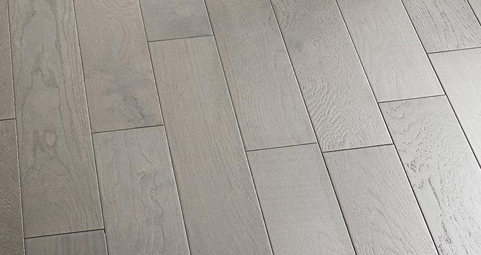 Studio Slate Grey Brushed & Lacquered Engineered Wood Flooring - Descriptive 5