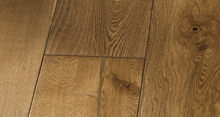 Grand Imperial Golden Smoked Oak Brushed & Lacquered Engineered Wood Flooring - Descriptive 5