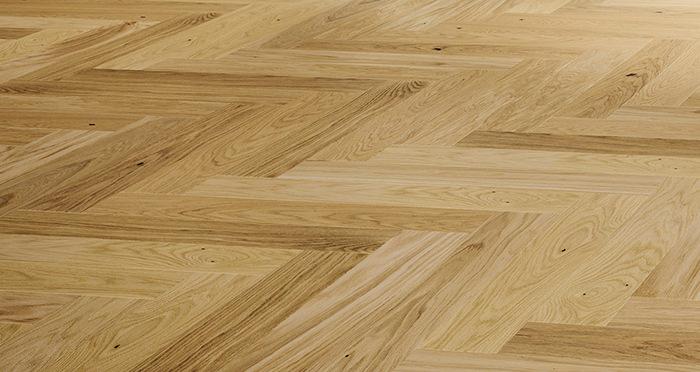 Bayswater Herringbone - Unfinished Oak Engineered Wood Flooring - Descriptive 2
