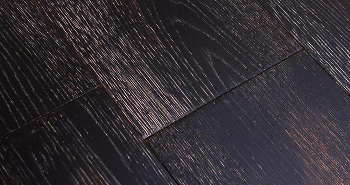Volcano Oak Brushed & Oiled Engineered Wood Flooring - Descriptive 4