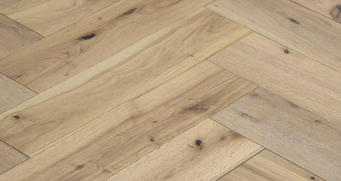 Brooklyn Nautical Herringbone Oak Engineered Wood Flooring - Descriptive 2