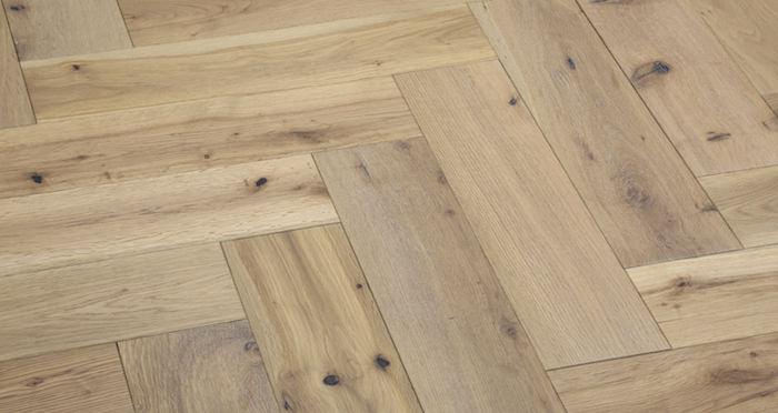 Brooklyn Nautical Herringbone Oak Engineered Wood Flooring - Descriptive 5