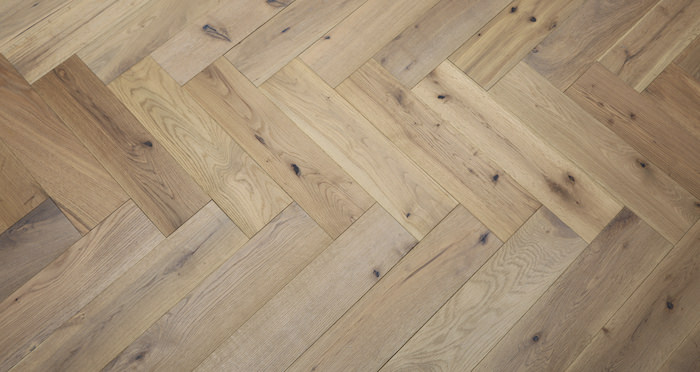 Brooklyn Nautical Herringbone Oak Engineered Wood Flooring - Descriptive 6