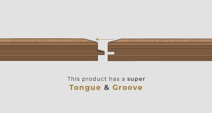 Golden Rustic Heritage Oak Brushed & Lacquered Solid Wood Flooring - Descriptive 7