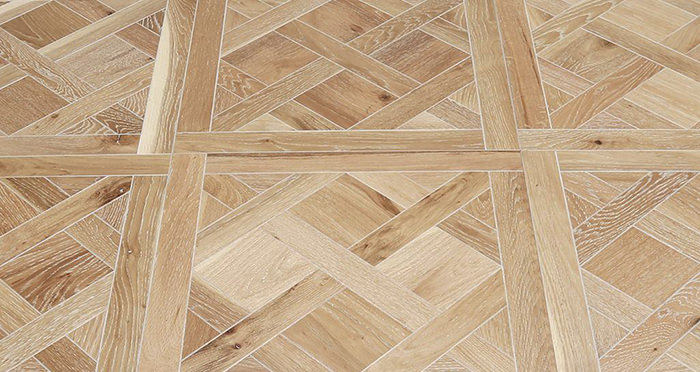 Strasburg White Smoked Oak Brushed & Oiled Engineered Wood Flooring - Descriptive 1