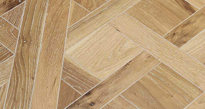 Strasburg White Smoked Oak Brushed & Oiled Engineered Wood Flooring - Descriptive 3