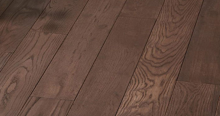 Luxury Chocolate Oak Solid Wood Flooring - Descriptive 5