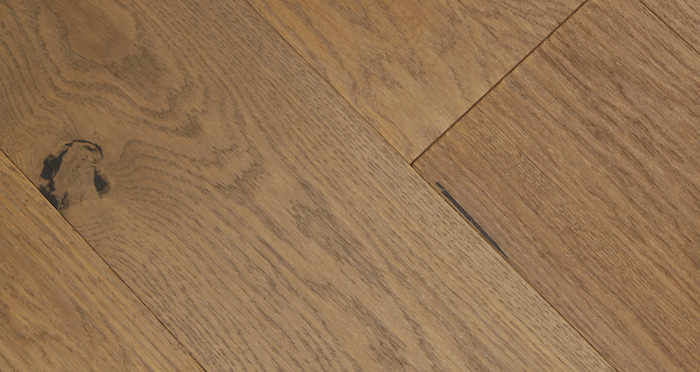 Smoked Clay Old French Oak Lacquered Engineered Wood Flooring - Descriptive 3