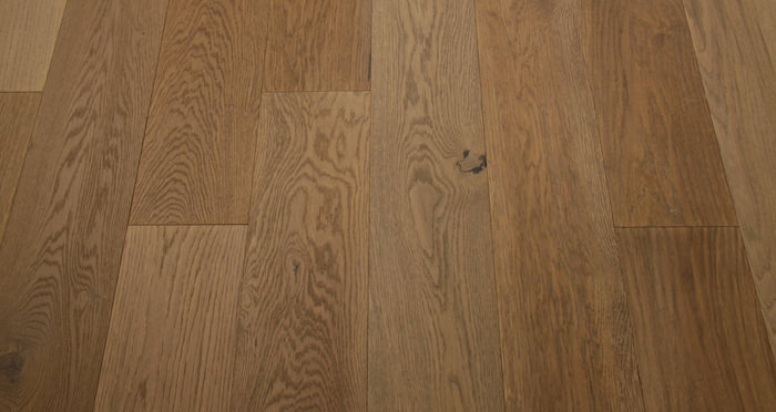 Smoked Clay Old French Oak Lacquered Engineered Wood Flooring - Descriptive 4