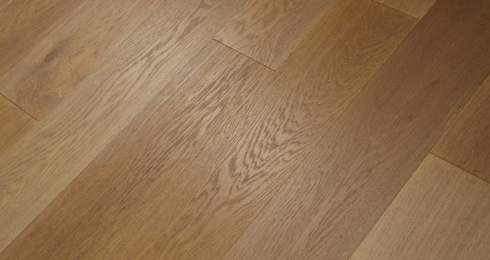 Smoked Clay Old French Oak Lacquered Engineered Wood Flooring - Descriptive 5