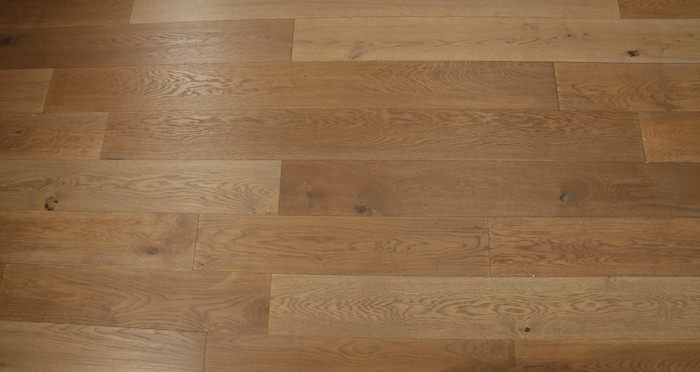 Smoked Clay Old French Oak Lacquered Engineered Wood Flooring - Descriptive 6