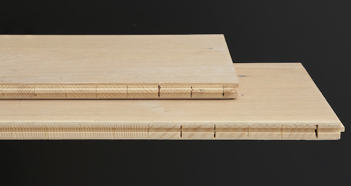 Supreme Frosted Oak Brushed & Oiled Engineered Wood Flooring - Descriptive 1
