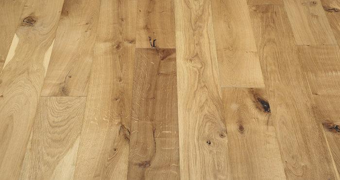 Natural Click Oak Brushed & Oiled 150mm Engineered Wood Flooring - Descriptive 3