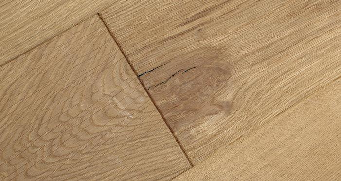 Natural Click Oak Brushed & Oiled 150mm Engineered Wood Flooring - Descriptive 4
