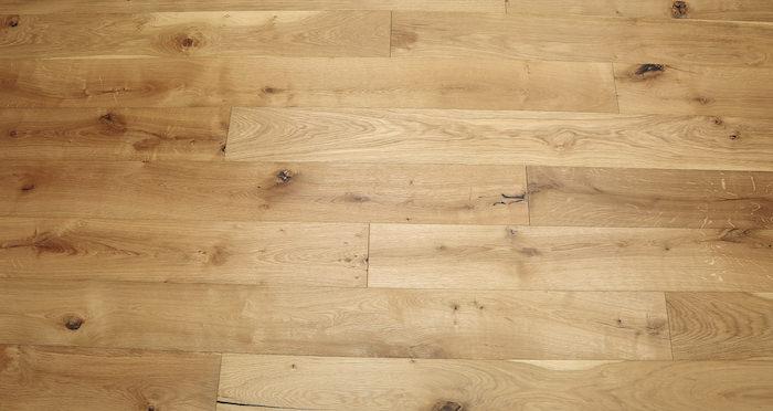 Natural Click Oak Brushed & Oiled 150mm Engineered Wood Flooring - Descriptive 5