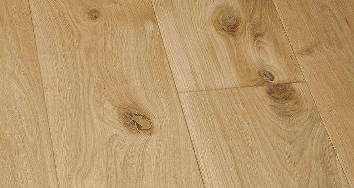 Supreme Unfinished Oak Solid Wood Flooring - Descriptive 3