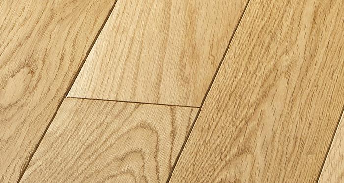 Elegant Natural Oak Brushed & Oiled Solid Wood Flooring - Descriptive 4