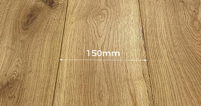 Trade Select 14mm x 150mm Brushed & Oiled Engineered Wood - Descriptive 2