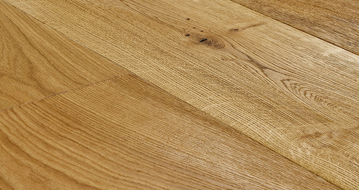 Grand Imperial Natural Oak Brushed & Oiled Engineered Wood Flooring - Descriptive 1