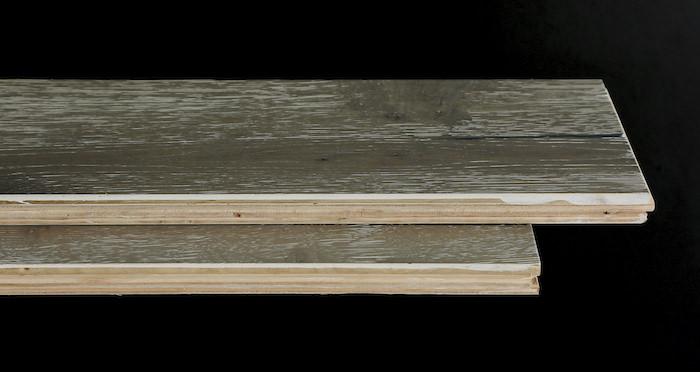 Urban Grey Oak Brushed & Lacquered Engineered Wood Flooring - Descriptive 1