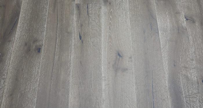 Urban Grey Oak Brushed & Lacquered Engineered Wood Flooring - Descriptive 3