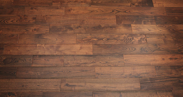 Deluxe Caramelised Teak Lacquered Solid Wood Flooring - Descriptive 4