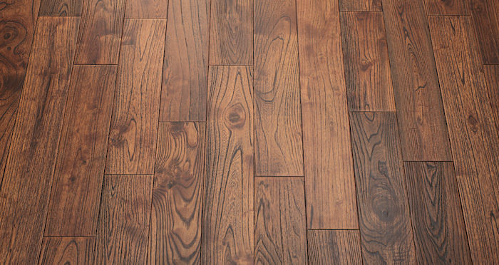Deluxe Caramelised Teak Lacquered Solid Wood Flooring - Descriptive 5