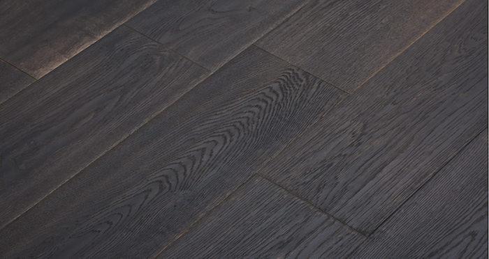 Midnight Old French Oak Super Matt Lacquered Engineered Wood Flooring - Descriptive 2
