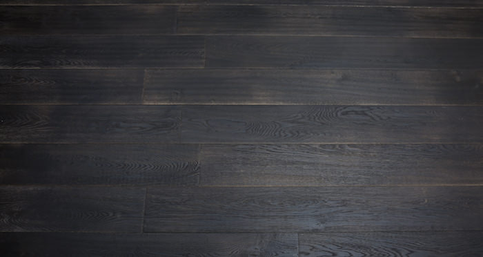 Midnight Old French Oak Super Matt Lacquered Engineered Wood Flooring - Descriptive 3