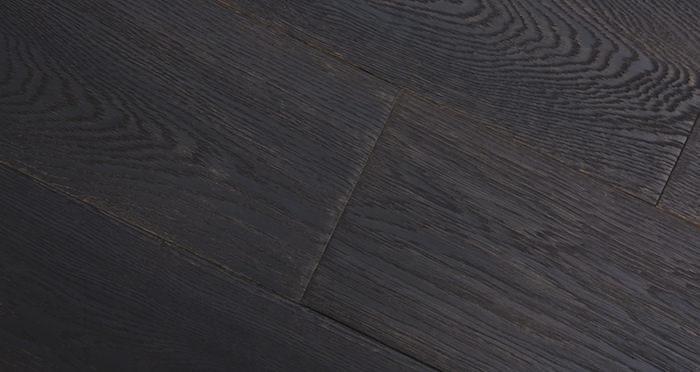 Midnight Old French Oak Super Matt Lacquered Engineered Wood Flooring - Descriptive 4